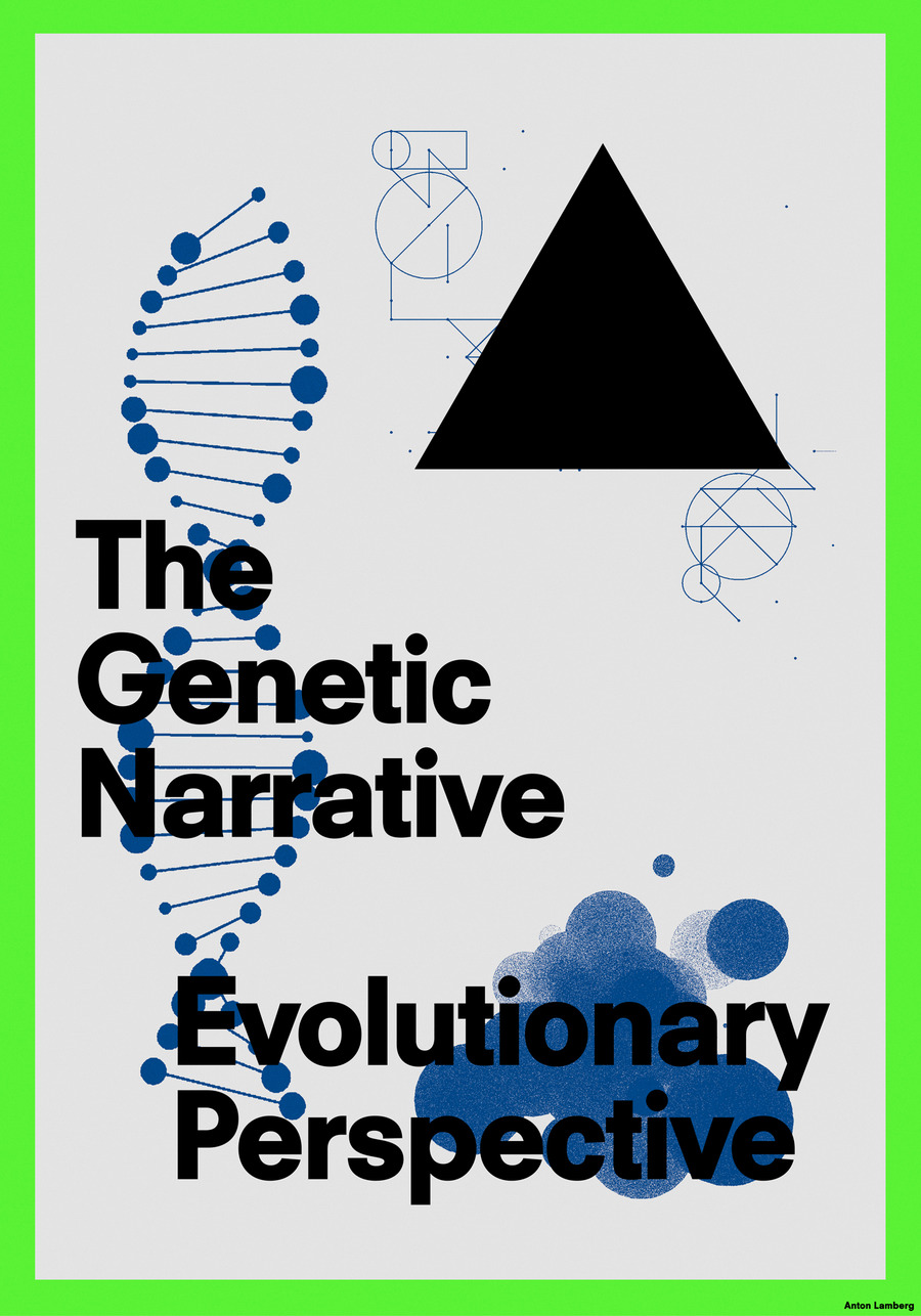 Genetic narrative poster catalogue 2x