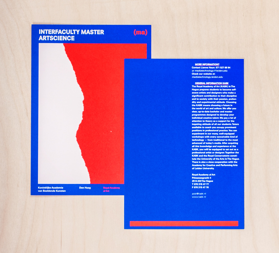 Information booklet masters catalogue 2x
